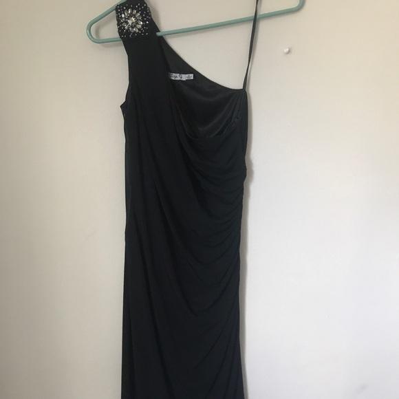 Eliza J Dresses & Skirts - Eliza J Beaded One Shoulder Dress